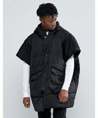 The New County - Poncho rembourré - Noir