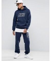 Nike - 804306-451 - Survêtement avec grand logo - Bleu - Bleu