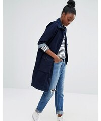Only - Parka en jean - Bleu