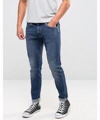 Edwin - ED-85 - Jean skinny surpiqué - Bleu