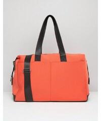ASOS ASSO - LIFESTYLE - Neopren-Reisetasche mit zwei Taschen - Rot