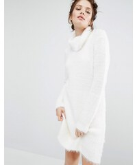 Willow and Paige - Robe pull oversize - Crème