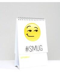 NPW - Emoji-Stimmungskalender - Mehrfarbig