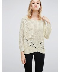 Love & Other Things - Pull large en tricot - Orange