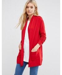 Lavand - Cardigan long - Rouge classique - Rouge