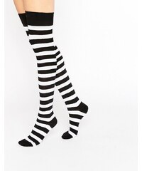 Missguided - Chaussettes d'Halloween à rayures - Multi