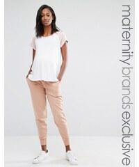Bluebelle Maternity - Pantalon de jogging confort resserré aux chevilles - Rose