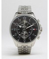 Tommy Hilfiger - Dean - Montre-bracelet chronographe en acier inoxydable - Argenté
