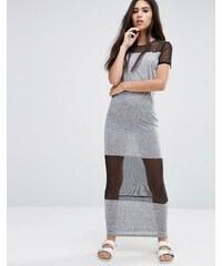 Pixie & Diamond - Robe longue en tulle - Noir