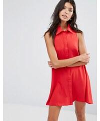 Pixie & Diamond - Robe chemise - Rouge