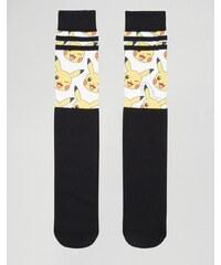 ASOS - Lot de 2 paires de chaussettes à imprimé Pokémon - Multi