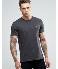 Lyle & Scott - T-shirt motif aigle - Gris anthracite chiné - Gris