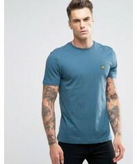 Lyle & Scott yle & Scott - T-shirt motif aigle - Bleu canard - Bleu