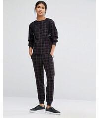 Warehouse Check track pants - Multi