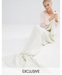 Club L - Night - Decke mit Meerjungfrauendesign - Cremeweiß