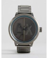 Armani Exchange - AX1362 - Armbanduhr in Stahlgrau - Silber