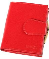 Dámská peněženka kožená, červená barva Bellugio ADF-40-110 {name}