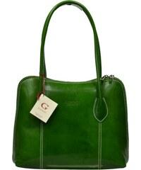 zelené kabelky do ruky Palagio Verde