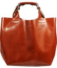 Kožené kabelky do ruky Elizabeth Camel