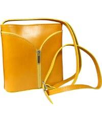 malá žlutá kabelka Lea Gialla Scura