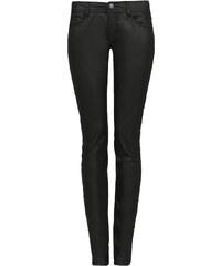 Q/S designed by Skinny Tube: Beschichtete Jeans