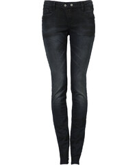 Q/S designed by Skinny Tube: Dunkle Used-Jeans