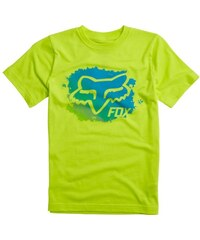 Triko Fox Youth Mankato Ss Tee Flo Yellow
