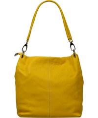 Kožená kabelka z kůže Fiora Gialla