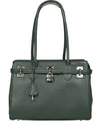 Luxusní kožená kabelka Azra Grande Verde