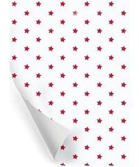 TAFELGUT Balicí papír Red stars