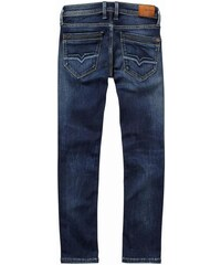 Pepe jeans Jeans enfant - Jean toile denim bleu stoné brut ado garçon