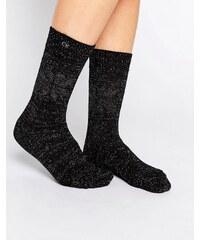 Calvin Klein - Holiday - Chaussettes motif flocon de neige - Noir