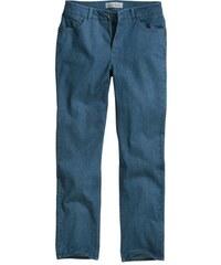 COLLECTION L. Damen Collection L. Jeans mit schimmernden Metallplättchen blau 36,38,40,42,44,46,48,50,52,54