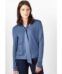 Damen Street One Shirt mit Schluppe Gesa STREET ONE blau L (40),M (38),S (36),XL (42),XS (34),XXL (44)