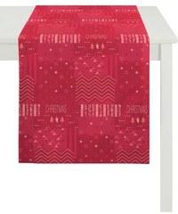 Tischläufer 5200 CHRISTMAS ELEGANCE APELT rot Tischläufer 48 x140 cm