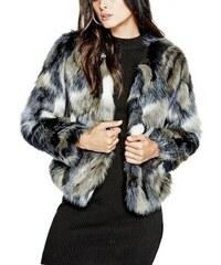 Kožich Guess Edra Faux-Fur Coat e75ff59c01