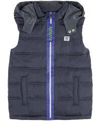 Armani Junior Logo sleeveless padded jacket