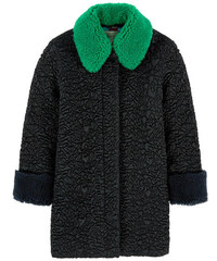 Gucci Long coat with a woollen collar