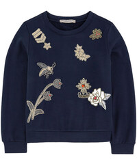Ermanno Scervino Junior Besticktes Sweatshirt