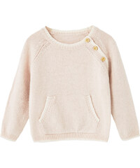 MANGO BABY Pullover Aus Wolle-Baumwoll-Mix.