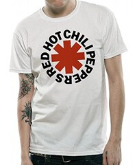 CID Herren T-Shirt Red Hot Chili Peppers-Asterix