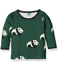 Småfolk Unisex Baby T-Shirt Ls. Panda