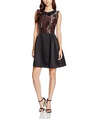 Wolf and Whistle Damen Kleid Bronze Black Lace