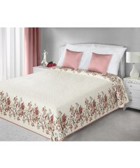 Přehoz na postel ALISON 220x240 cm smetanová Mybesthome
