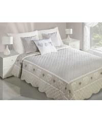 Přehoz na postel AURORA 220x240 cm béžová MyBestHome