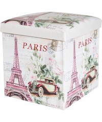 TABURET OLD PARIS 37x37x40 cm MyBestHome