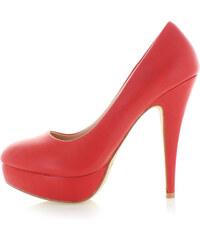Belle Women Červené lodičky Agava