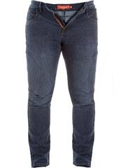 Lesara D555 Jeans mit versetzter Gürtelschlaufe - 42