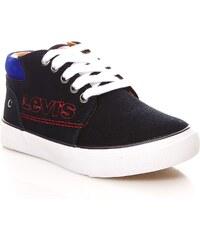 Levi's Kids Patouch - Sneakers en cuir - bleu marine