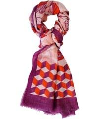 Le Secret des Eléphants Foulard en laine - multicolore